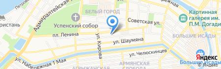 Нотариус Писарева В.Я. на карте Астрахани