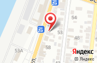 Схема проезда до компании Автоматизированные системы безопасности в Астрахани