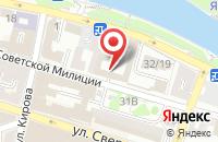 Схема проезда до компании ЛОТОС ПРОЕКТ в Астрахани