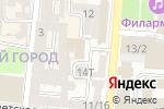 Схема проезда до компании Цифровой в Астрахани