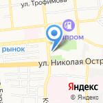 Диван-Сарай на карте Астрахани
