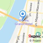 Сити-Авто на карте Астрахани