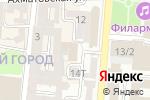 Схема проезда до компании Консультативно-тренинговый центр Лилии Бессоновой в Астрахани