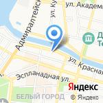 Виво на карте Астрахани