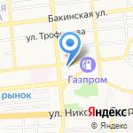 Встреча на карте Астрахани