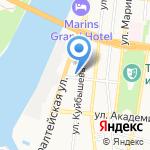 Нижневолжский экоцентр на карте Астрахани