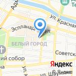 Юниор на карте Астрахани