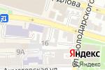Схема проезда до компании Астрахань-Телефоника в Астрахани