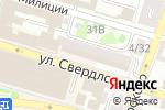 Схема проезда до компании Магазин посуды в Астрахани