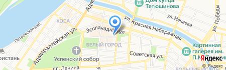 Астраханский городской аквариум на карте Астрахани