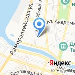 Зодиак на карте Астрахани
