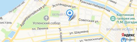Граммофон на карте Астрахани