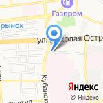 Бест-Авто на карте Астрахани