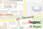 Схема проезда до компании Сильвер Тур в Астрахани