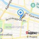 Дом потолков на карте Астрахани