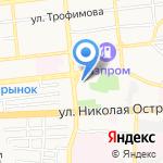 Анекс Тур на карте Астрахани