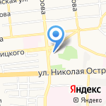 Сорренто на карте Астрахани