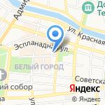 Шоколадный город на карте Астрахани