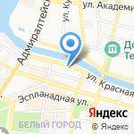 Аметист на карте Астрахани