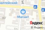 Схема проезда до компании Марьям в Астрахани