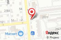 Схема проезда до компании Быстроденьги в Астрахани