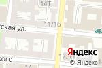 Схема проезда до компании Салон-парикмахерская №7 в Астрахани