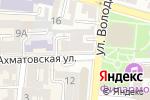 Схема проезда до компании Шоколад Авеню в Астрахани