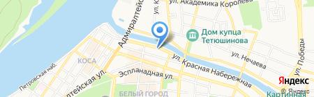 Астраханский Облрыболовпотребсоюз на карте Астрахани