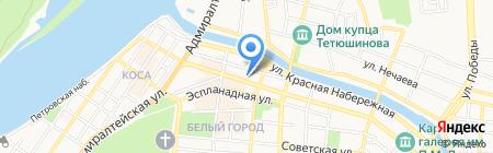 Министерство сельского хозяйства Астраханской области на карте Астрахани