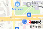 Схема проезда до компании Букетик в Астрахани