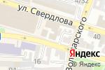 Схема проезда до компании Модница в Астрахани