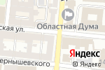 Схема проезда до компании МаГия в Астрахани