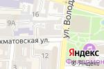 Схема проезда до компании Национальная почтовая служба в Астрахани