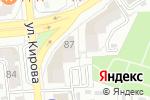 Схема проезда до компании АНЕКС ТУР в Астрахани