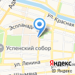 Чикаго Хаус на карте Астрахани