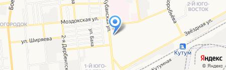 Архив Каспийской флотилии на карте Астрахани