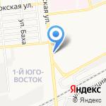 Вкусный мир на карте Астрахани