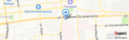 Паразитологическая лаборатория на карте Астрахани
