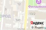 Схема проезда до компании Модный букет в Астрахани