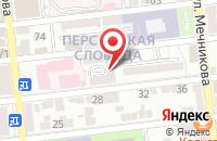 Схема проезда до компании Caring в Астрахани
