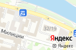 Схема проезда до компании Абрикос-А в Астрахани