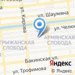 Поликлиника на карте Астрахани
