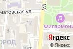 Схема проезда до компании БУМ в Астрахани