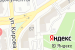 Схема проезда до компании Top Media в Астрахани