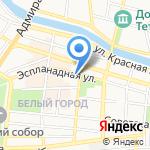 Аэро на карте Астрахани
