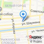 Индустрия безопасности на карте Астрахани