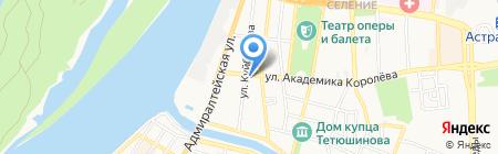 Torex на карте Астрахани