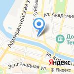 Кам-Ин на карте Астрахани