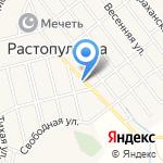 Лилия на карте Астрахани