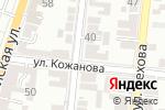 Схема проезда до компании БайАрт в Астрахани
